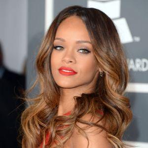 Rihanna in Tangerine