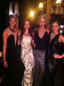 Lindsey, Amber, Megan and Zoe
