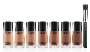 MAC Mineralized Liquid Foundation (NC 45 is my color)!