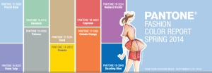 Pantone 2014 Spring Color Chart