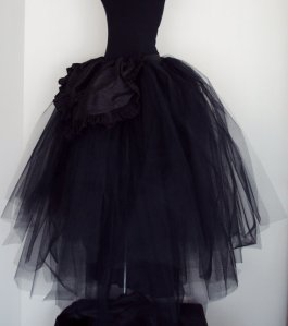 Etsy Black Tulle Skirt
