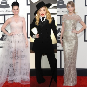 Katy Perry, Madonna and Taylor Swift