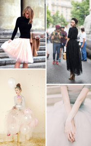 Modevintage Tulle Skirts