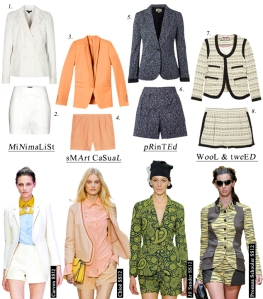 Short Suits for Women